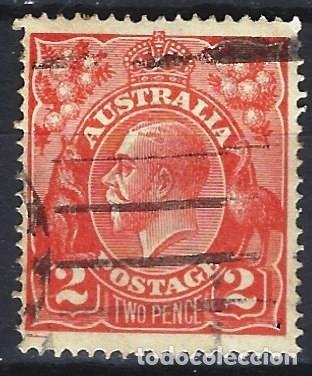 AUSTRALIA 1926-30 - JORGE V - SELLO USADO (Sellos - Extranjero - Oceanía - Australia)