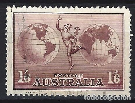 AUSTRALIA 1934 - CORREO AÉREO - SELLO USADO (Sellos - Extranjero - Oceanía - Australia)