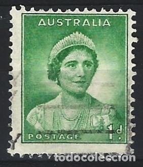 AUSTRALIA 1937-49 - REINA ISABEL - SELLO USADO (Sellos - Extranjero - Oceanía - Australia)