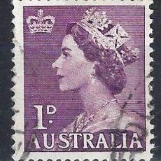 Francobolli: AUSTRALIA 1953 - ISABEL II - SELLO USADO. Lote 211507162