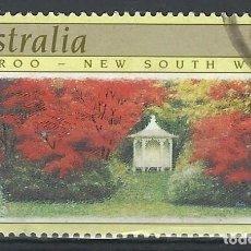 Sellos: AUSTRALIA 1989 - JARDINES, NOOROO. NUEVA GALES DEL SUR - SELLO USADO. Lote 211613792