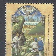Sellos: AUSTRALIA 1989 - NAVIDAD, ADORACIÓN DE LOS PASTORES - SELLO USADO. Lote 211613987