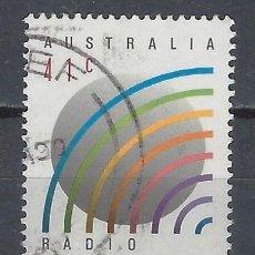 """Sellos: AUSTRALIA 1989 - 50º ANIVERSARIO DE """"RADIO AUSTRALIA"""" - SELLO USADO. Lote 211614072"""