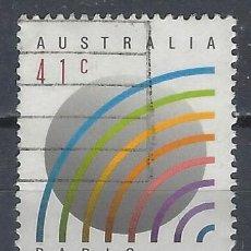 """Sellos: AUSTRALIA 1989 - 50º ANIVERSARIO DE """"RADIO AUSTRALIA"""" - SELLO USADO. Lote 211614086"""