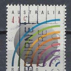 """Sellos: AUSTRALIA 1989 - 50º ANIVERSARIO DE """"RADIO AUSTRALIA"""" - SELLO USADO. Lote 211614114"""