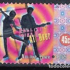 Francobolli: AUSTRALIA 1998 - MÚSICA AUSTRALIANA, NORMIE ROWE. 1965 - SELLO USADO ALDHESIVO. Lote 211770202