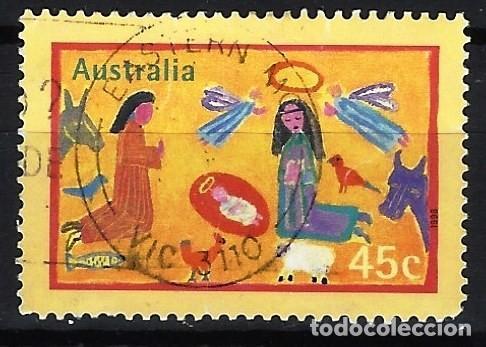 AUSTRALIA 1998 - NAVIDAD - SELLO USADO (Sellos - Extranjero - Oceanía - Australia)