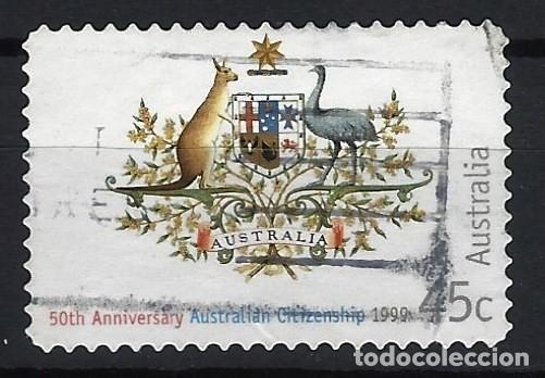 AUSTRALIA 1999 - 50º ANIVERSARIO DE LA NACIONALIDAD AUSTRALIANA - SELLO USADO ADHESIVO (Sellos - Extranjero - Oceanía - Australia)