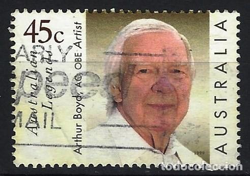 AUSTRALIA 1999 - ARTHUR BOYD, PINTOR, RETRATO - SELLO USADO (Sellos - Extranjero - Oceanía - Australia)