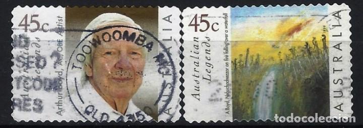AUSTRALIA 1999 - ARTHUR BOYD, PINTOR, S.COMPLETA - SELLOS USADOS ADHESIVOS (Sellos - Extranjero - Oceanía - Australia)