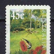 Sellos: AUSTRALIA 2000 - EXPOSICIÓN INTERNACIONAL DE JARDINES - SELLO USADO ADHESIVO. Lote 211775401