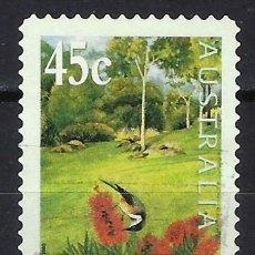 Sellos: AUSTRALIA 2000 - EXPOSICIÓN INTERNACIONAL DE JARDINES - SELLO USADO ADHESIVO. Lote 211775411