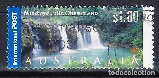 AUSTRALIA 2000 - TURISMO, CASCADAS DE NANDROYA. QUEENSLAND - SELLO USADO (Sellos - Extranjero - Oceanía - Australia)