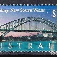 Sellos: AUSTRALIA 2000 - TURISMO, PUENTE DE SYDNEY - SELLO USADO. Lote 211775892