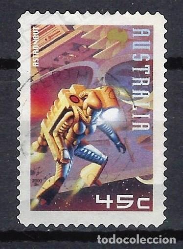 AUSTRALIA 2000 - LA CONQUISTA DE MARTE - SELLO USADO ADHESIVO (Sellos - Extranjero - Oceanía - Australia)