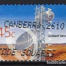 Sellos: AUSTRALIA 2001 - SERVICIOS INTERNOS, TORRE DE TELECOMNICACIONES - SELLO USADO ADHESIVO. Lote 211790326