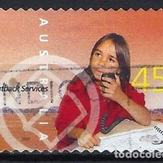 Sellos: AUSTRALIA 2001 - SERVICIOS INTERNOS, ESCUELA AÉREA - SELLO USADO ADHESIVO. Lote 211790558