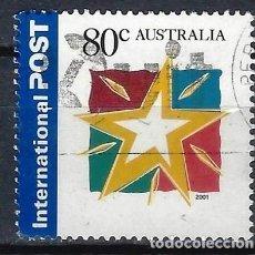 Sellos: AUSTRALIA 2001 - NAVIDAD - SELLO USADO. Lote 211791246