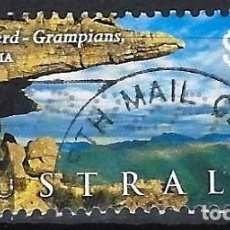 Sellos: AUSTRALIA 2002 - PAISAJES, GARIWERD GRAMPIANS. VICTORIA - SELLO USADO. Lote 211793705