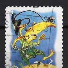Sellos: AUSTRALIA 2002 - EL BOSQUE MÁGICO, CRIATURAS MITICAS, ENCANTADOR - SELLO USADO ADHESIVO. Lote 211794391