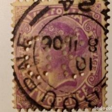Sellos: AUSTRALIA - VICTORIA - COLONIA BRITÁNICA 1901 - 1902 REINA VICTORIA. Lote 211915848