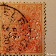 Sellos: AUSTRALIA - VICTORIA - COLONIA BRITÁNICA HACIA 1880 REINA VICTORIA. Lote 211916608