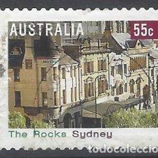 Sellos: AUSTRALIA 2008 - TURISMO,THE ROCKS. SYDNEY - SELLO USADO. Lote 212143247
