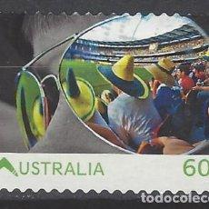 Sellos: AUSTRALIA 2011 - VIVIR AUSTRALIA - SELLO USADO ADHESIVO. Lote 212158965