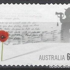 Sellos: AUSTRALIA 2011 - DIA DEL RECUERDO - SELLO USADO. Lote 212159608
