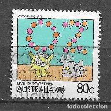 Sellos: AUSTRALIA, VIVIENDO JUNTOS,USADO, YVERT 1061. Lote 212861113