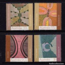 Sellos: AUSTRALIA 1090/93** - AÑO 1988 - ARTE DEL DESIERTO. Lote 213727300