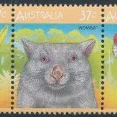 Sellos: AUSTRALIA 1987 IVERT 1012/6 *** FAUNA AUSTRALIANA. Lote 215013513