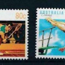Sellos: AUSTRALIA 1991 IVERT 1219/22 *** SERIE BÁSICA - DEPORTES (V). Lote 215020668