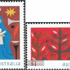 Sellos: AUSTRALIA 1999 IVERT 1781/2 *** NAVIDAD. Lote 215081548