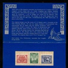Sellos: AUSTRALIA 1455/57** - AÑO 1995 - 50º ANIVERSARIO DEL FIN DE LA SEGUNDA GUERRA MUNDIAL. Lote 217008570
