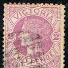 Sellos: AUSTRALIA . VICTORIA // YVERT 85 // 1884-86 ... USADO. Lote 217464048