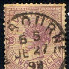 Sellos: AUSTRALIA . VICTORIA // YVERT 92 // 1884-86 ... USADO. Lote 217464217