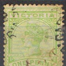 Sellos: AUSTRALIA . VICTORIA // YVERT 96 // 1886-88 ... USADO. Lote 217464352