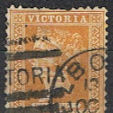 Sellos: AUSTRALIA . VICTORIA // YVERT 101 // 1890-98 ... USADO. Lote 217464532