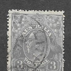 Sellos: AUSTRALIA,1923, JORGE V,YVERT 39, USADOS. Lote 217936902