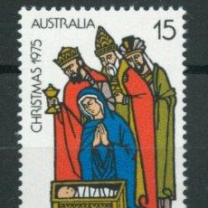 Sellos: AUSTRALIA 1975 IVERT 580 *** NAVIDAD - LOS REYES MAGOS. Lote 218609542