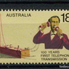 Sellos: AUSTRALIA 1975 IVERT 583 *** CENTENARIO DEL TELÉFONO - TELÉFONO ANTIGUO. Lote 218609745