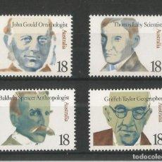 Sellos: AUSTRALIA 1976 IVERT 604/7 *** PERSONAJES ILUSTRES (VIII). Lote 218609933