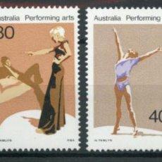 Sellos: AUSTRALIA 1977 IVERT 608/11 *** SERIE BÁSICA - LAS ARTES EN AUSTRALIA. Lote 218610057