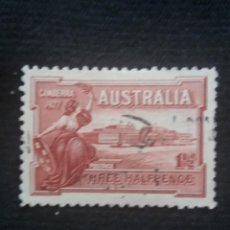 Sellos: AUSTRALIA, 1,1/2D, CANBERRA, AÑO 1927... Lote 219217453