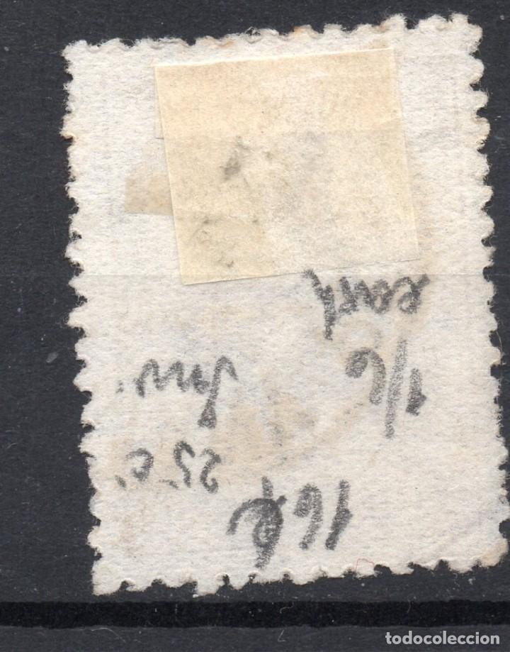 Sellos: AUSTRALIA/1913/USED/SC#5/ CANGURO Y MAPA, 3P OL BIS, WMK 8 INVERTIDO - Foto 2 - 220608650