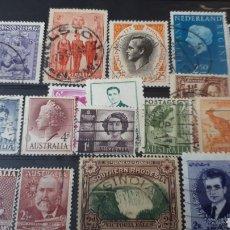 Sellos: SELLOS USADOS DE AUSTRALIA A 17. Lote 220618810
