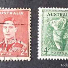 Sellos: 1937-1949 AUSTRALIA SERIE DE USO CORRIENTE. Lote 221380998