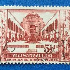 Sellos: SELLO DE AUSTRALIA. YVERT 244. AUSTRALIAN WAR MEMORIAL - CANBERRA. Lote 221396760