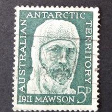 Sellos: 1961 ANTÁRTICA AUSTRALIANA 50 ANIVERSARIO EXPEDICIÓN AUSTRALIANA. Lote 221410382